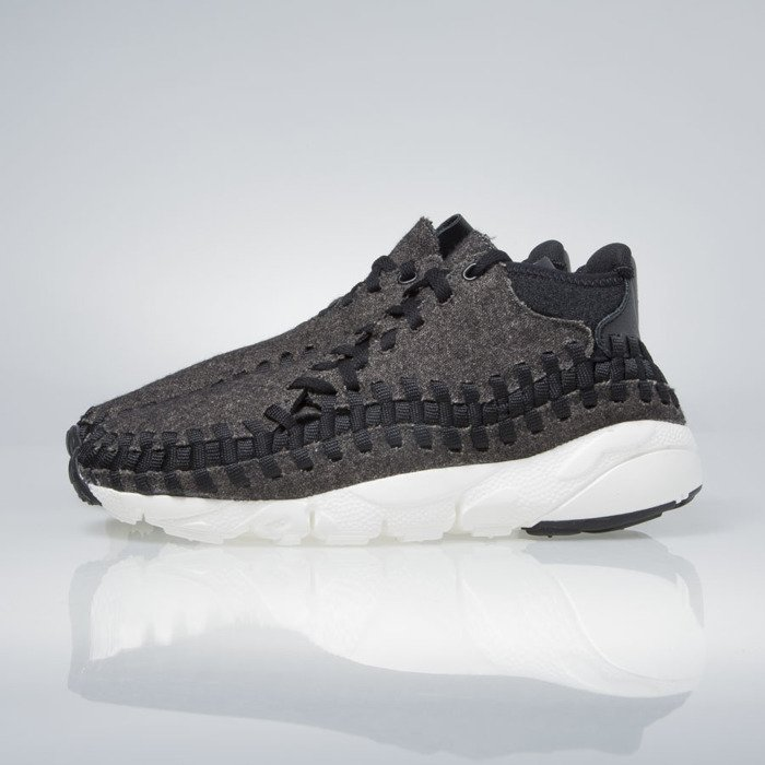 finest selection 91bcd c378c Nike Air Footscape Woven Chukka Se black   black-ivory 857874-001    Bludshop.com