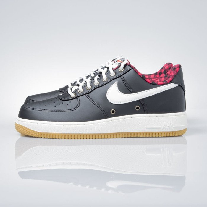 check out 1ca91 d2c3e ... Nike Air Force 1  07 LV8 black   sail-action red-gum light ...