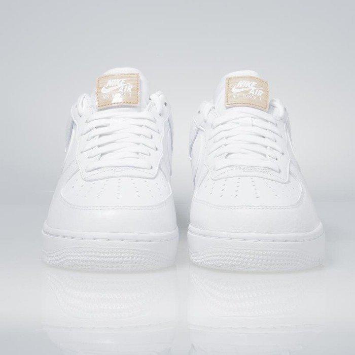 various colors fe876 1b918 ... Nike Air Force 1  07 LV8 white   white-vachetta tan 718152-108 ...