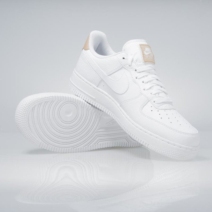 various colors c2538 061f4 ... Nike Air Force 1  07 LV8 white   white-vachetta tan 718152-108 ...