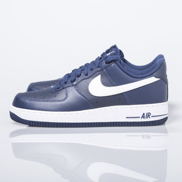 new product 2b84e b1d32 ... Nike Air Force 1 07 Low midnight navy  white (488298-436) ...