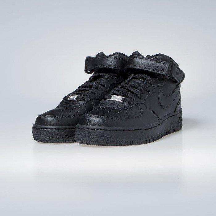 new concept cbb42 cc8e9 Nike Air Force 1 '07 Mid black WMNS (366731-001)