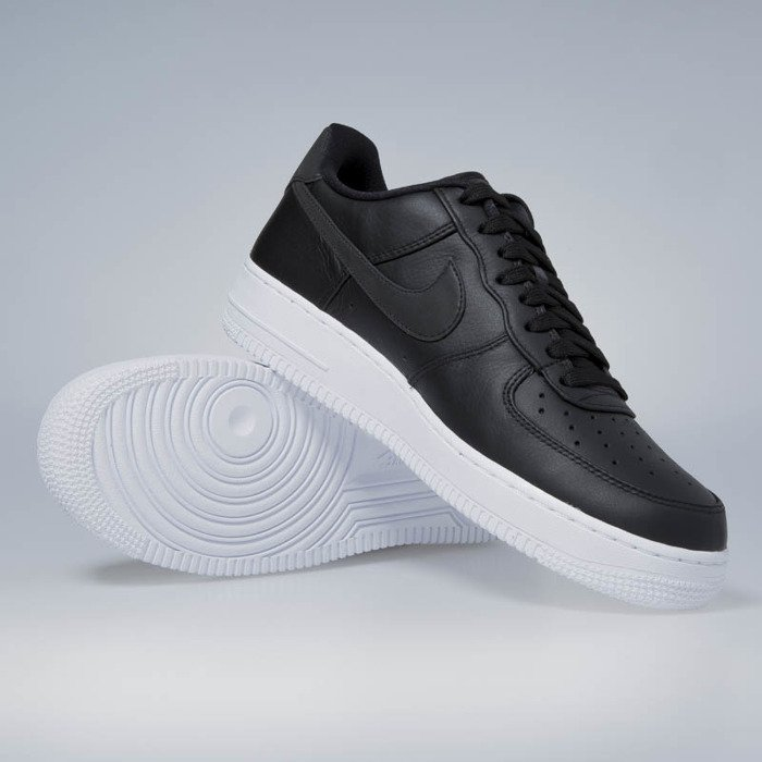 ... Nike Air Force 1 '07 Premium black / black - white 905345-001 ...