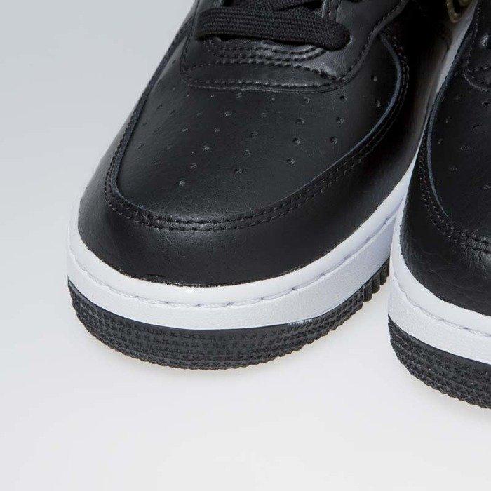 16be9e82fcb5 ... Nike Air Force 1 High  07 LV8 Sport black metallic gold-white ...