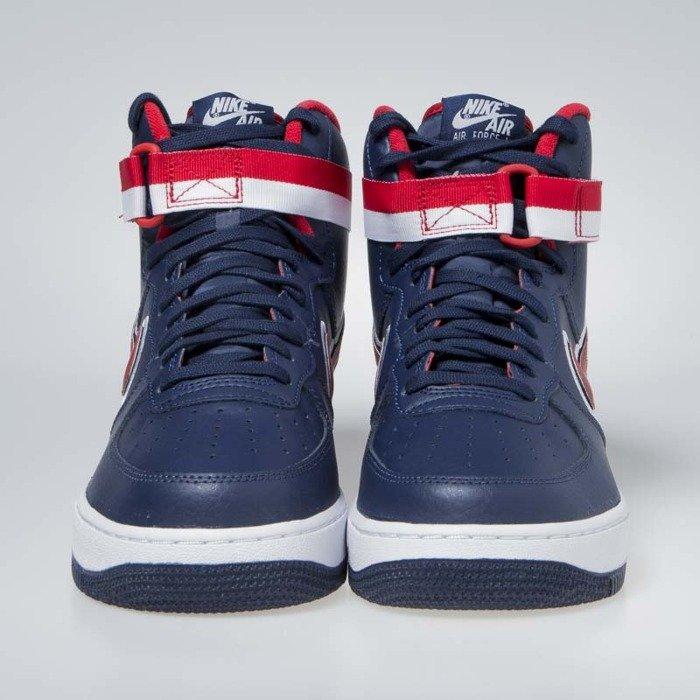 89c7f2b0202ba ... Nike Air Force 1 High '07 LV8 Sport midnight navy/university red  (AV3938 ...