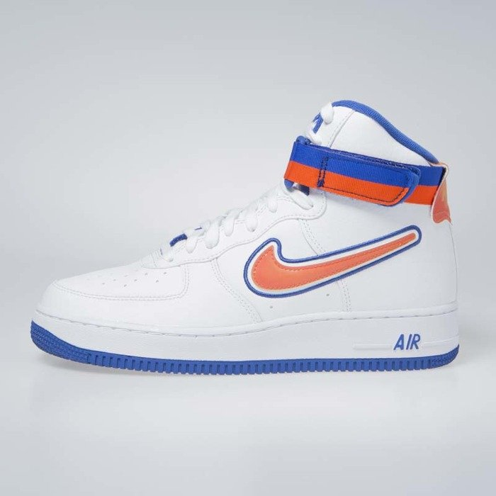 best sneakers 25974 4b372 ... Nike Air Force 1 High  07 LV8 Sport white team orange-game royal ...