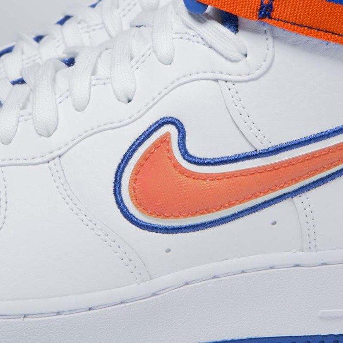 050cb24ddaaa90 ... Nike Air Force 1 High  07 LV8 Sport white team orange-game royal ...