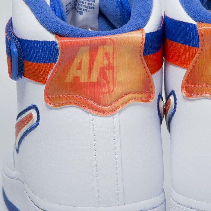 e6502bc990e90 Nike Air Force 1 High  07 LV8 Sport white team orange-game royal ...