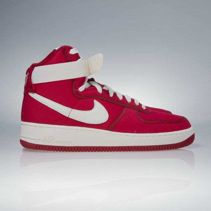 check out ab6d0 b2dde ... Nike Air Force 1 High Retro gym red  sail-black (832747-600 ...