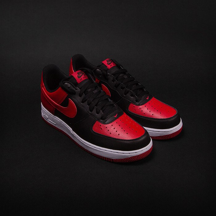 premium selection 8119e 82410 ... sale nike air force 1 low black gym red white 820266 009 c4bf4 73a72