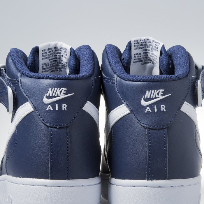the best attitude bb936 2a980 Nike Air Force 1 Mid  07 midnight navy ...