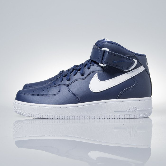 finest selection 1f6b0 acdfc ... Nike Air Force 1 Mid 07 midnight navy (315123-407) ...