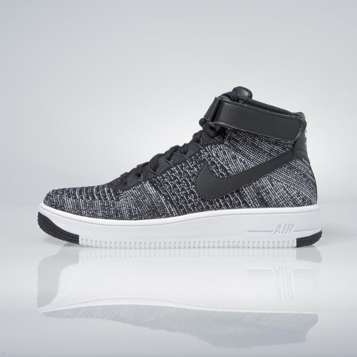 ... Nike Air Force 1 Ultra Flyknit Mid black   black-white 817420-004 ... e9b55d74d6d3