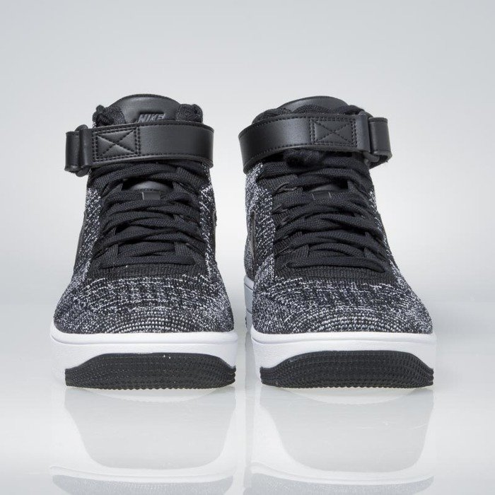 new style 29529 e77b3 ... new zealand nike air force 1 ultra flyknit mid black black white 817420  004 6f80c c9a7c