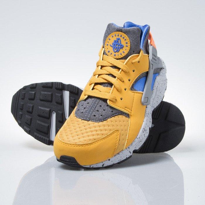 café caja de cartón pivote  Nike Air Huarache Run SE gold lf / hyper cobalth-hyper cobalth ...