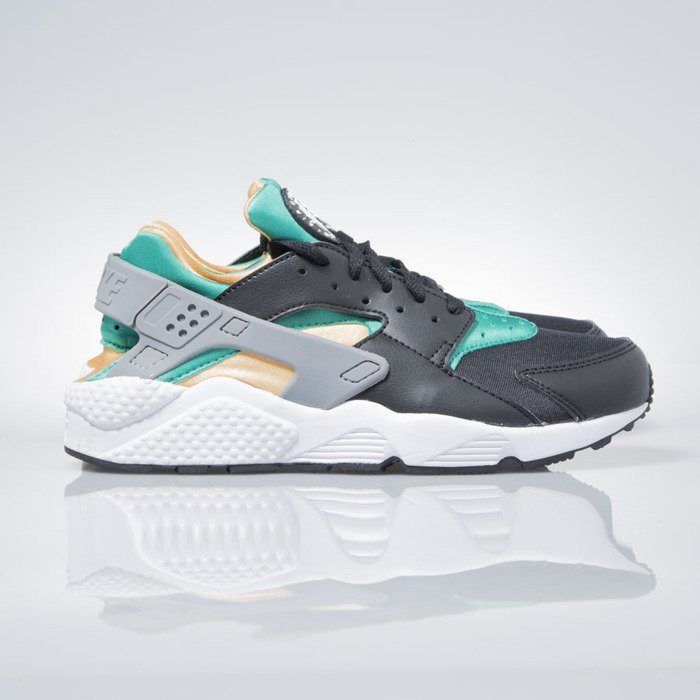 best website 5e652 2c95e ... Nike Air Huarache black  white-emerald-resin 318429-018 ...