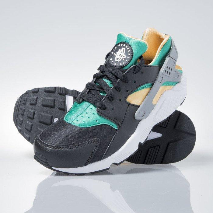 Nike Air Huarache black whiteemeraldresin 318429018