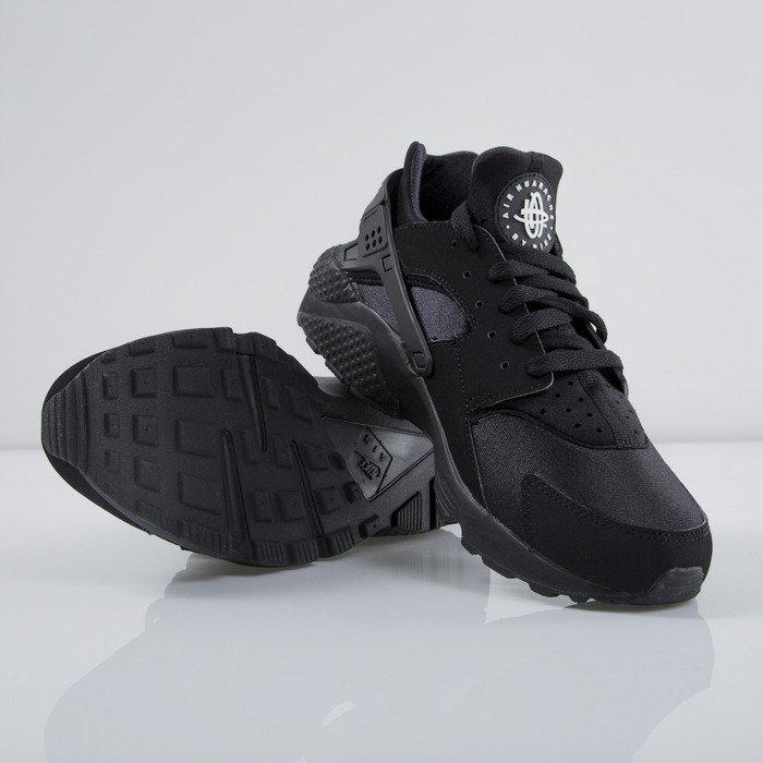 Men Nike Air Huarache Black/Black 318429-003
