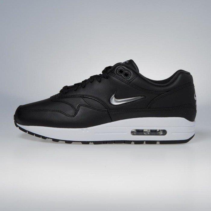 ... Nike Air Max 1 Premium SC black   mettalic silver - white 918354-001 ... 5796db037b