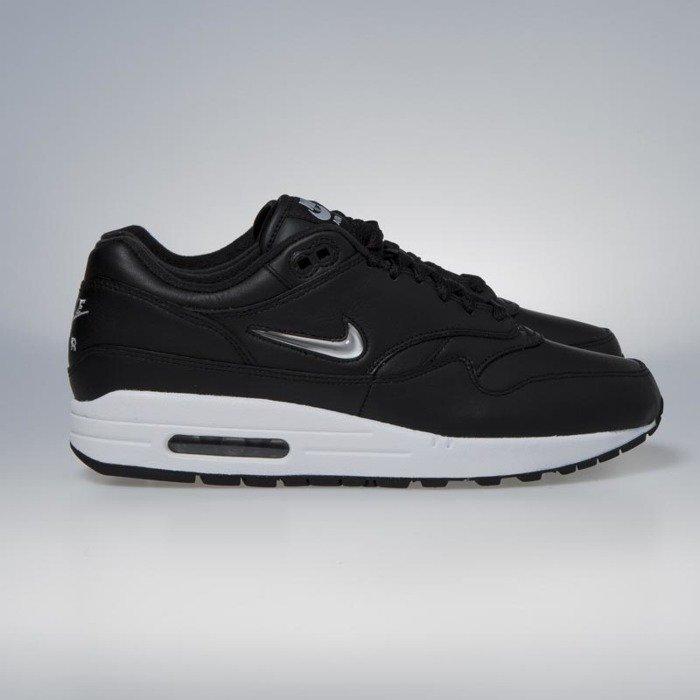 Nike Air Max 1 Premium SC black   mettalic silver - white 918354-001 ... 8fb2ad35e1
