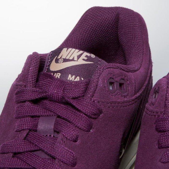 nouveau style 3caaa eb8f8 Nike Air Max 1 Premium SC bordeaux / blur - bio beige AA0512-600