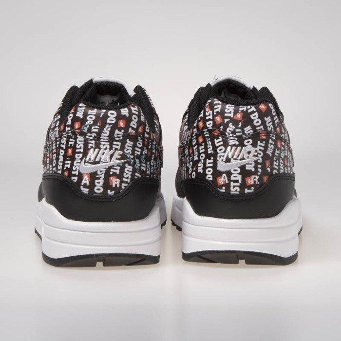 big sale e3822 acdfc ... Nike Air Max 1 Premium black white-total orange (875844-009) ...