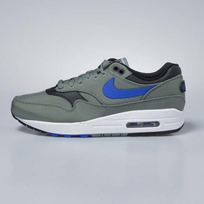 be8ebd3ebe7 ... Nike Air Max 1 Premium clay green   hyper royal - white 875844-300 ...
