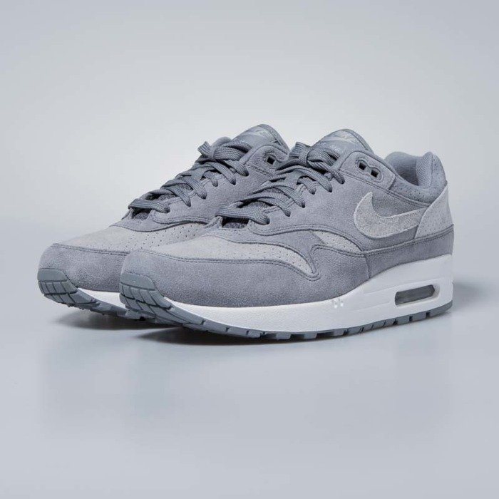 the latest deaef 7d005 ... Nike Air Max 1 Premium cool grey   wolf grey - white 875844-005 ...