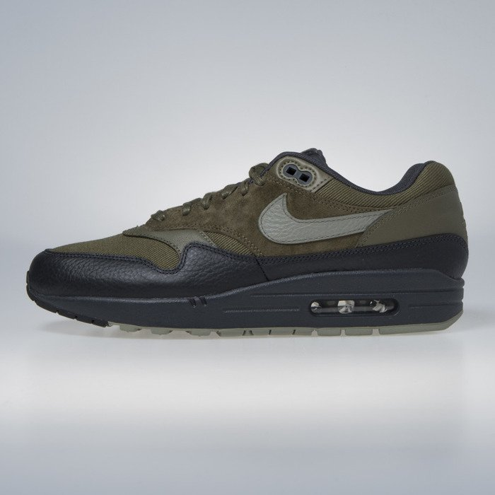 timeless design 4b928 763ab ... Nike Air Max 1 Premium medium olive   dark stucco 875844-201 ...