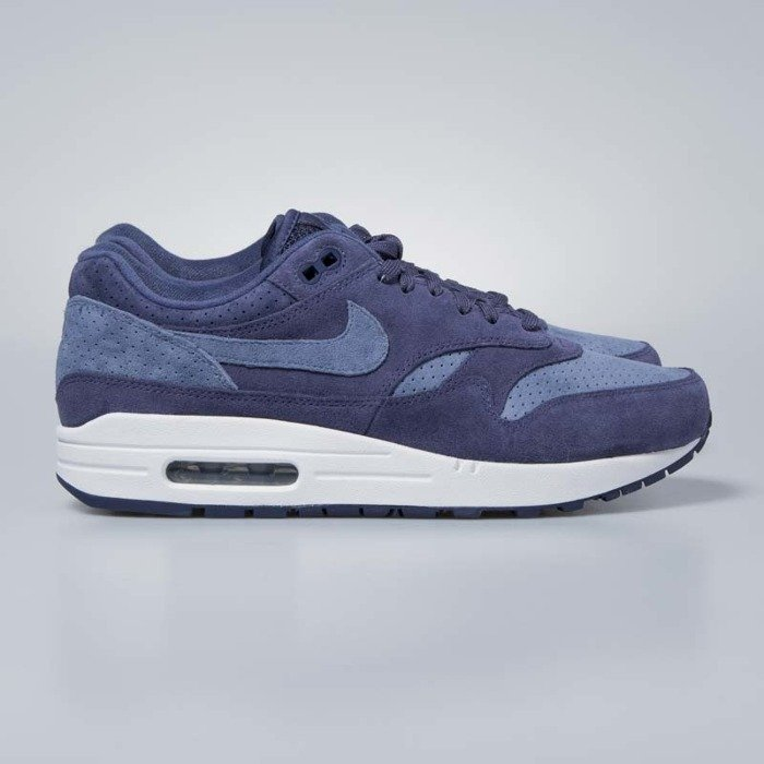 buy online e05e9 b4d0f Nike Air Max 1 Premium neutral indigo   diffused blue 875844-501 ...