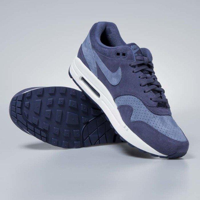 quality design 06900 a522f ... Nike Air Max 1 Premium neutral indigo  diffused blue 875844-501 ...