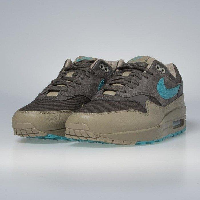 reputable site 7be6e 5ba3a ... Nike Air Max 1 Premium ridgerock  turbo green - khaki 875844-200 ...