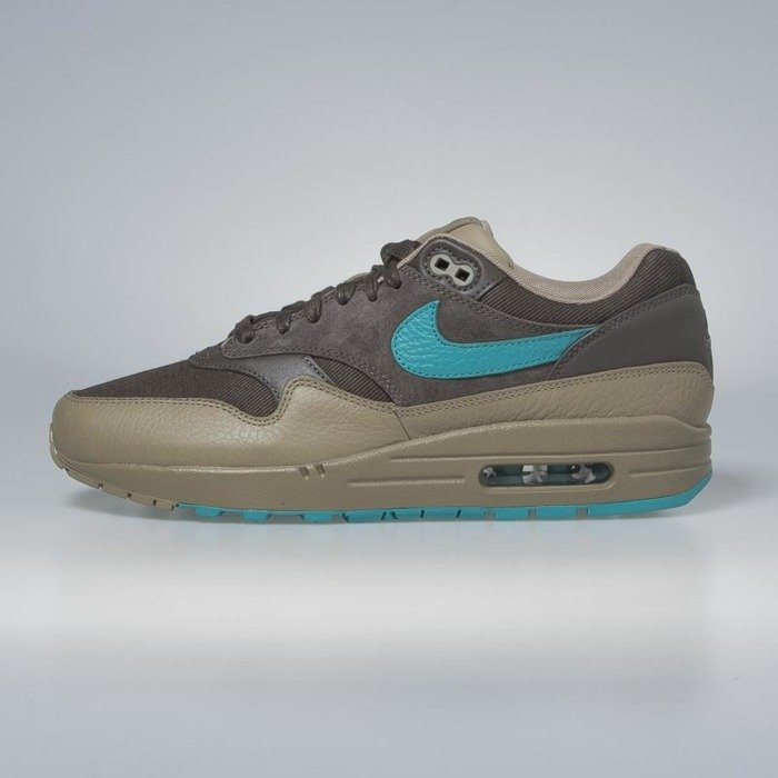 best website 23966 6c443 Nike Air Max 1 Premium ridgerock   turbo green - khaki 875844-200    Bludshop.com