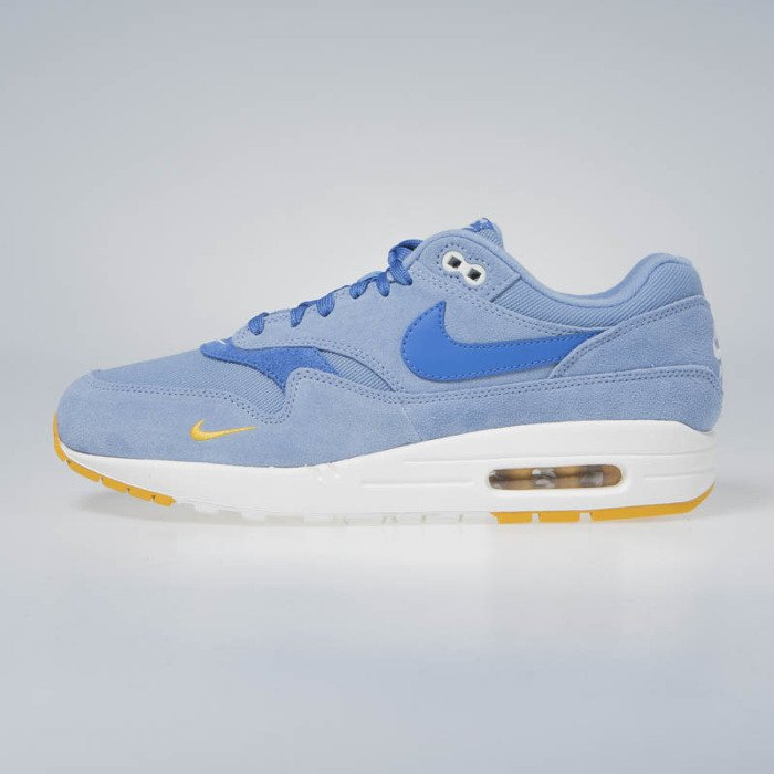 e176ff122403 Nike Air Max 1 Premium work blue mountain blue 875844-404