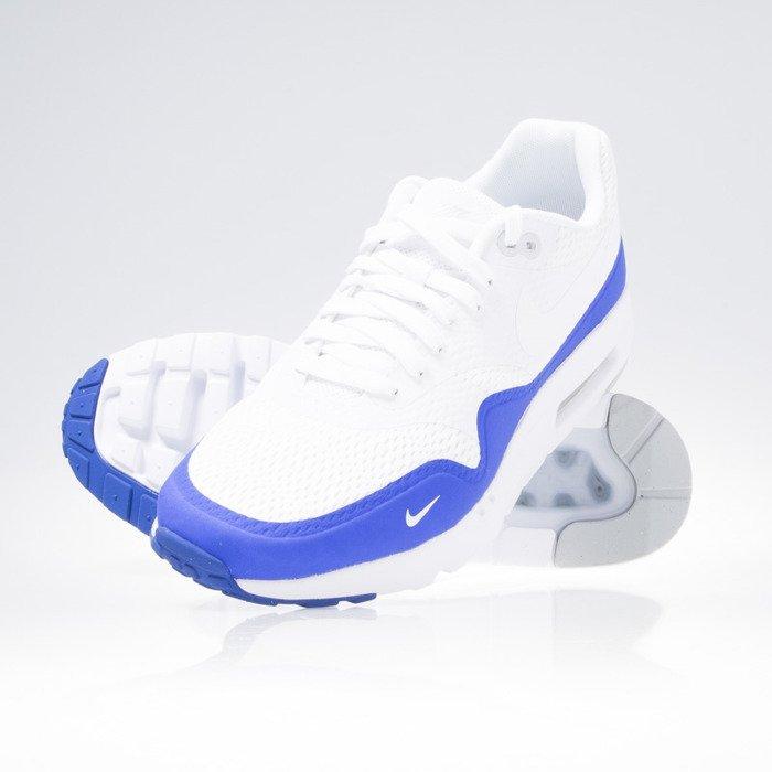 ... Nike Air Max 1 Ultra Essential white / white-pr platinum-racer blue ...