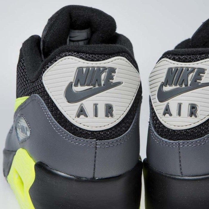 e39d23183628 Nike Air Max 90 Essential dark grey volt-black (AJ1285-015) ...