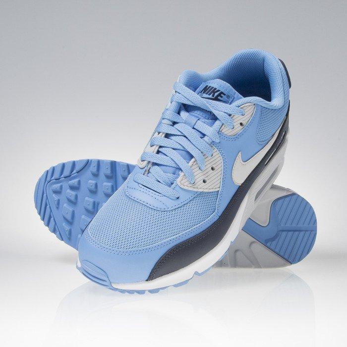 nike air max 90 university blue white essential