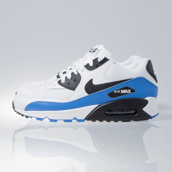nike air max 90 blue white