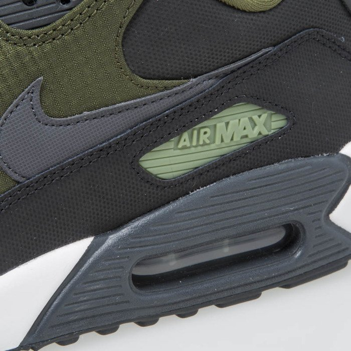 Nike Air Max 90 Premium black anthracite legion green 700155 002