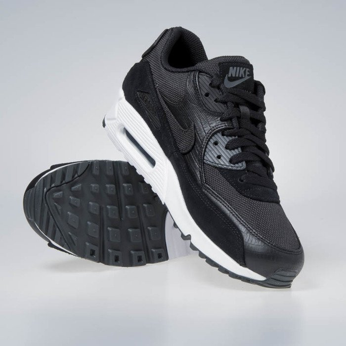 3ec74f6a0cb ... Nike Air Max 90 Premium black black-white-anthracite 700155-014 ...