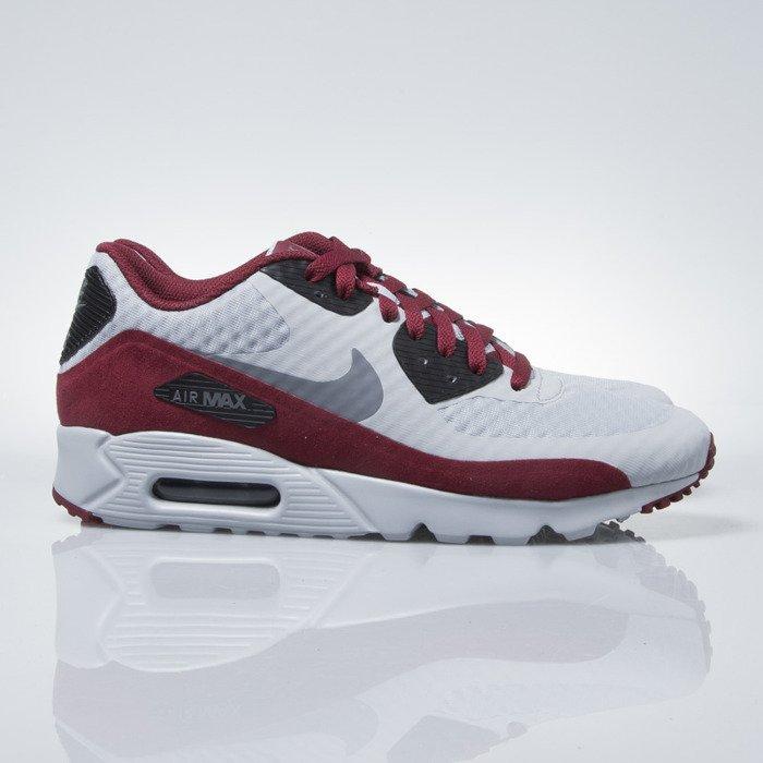 ... Nike Air Max 90 Ultra Essential wolf grey / dk grey-black-tm rd ...
