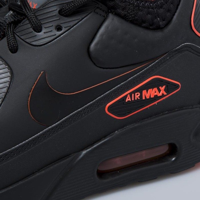 de0c14c928 Nike Air Max 90 Ultra Mid Winter SE black black - total crimson .