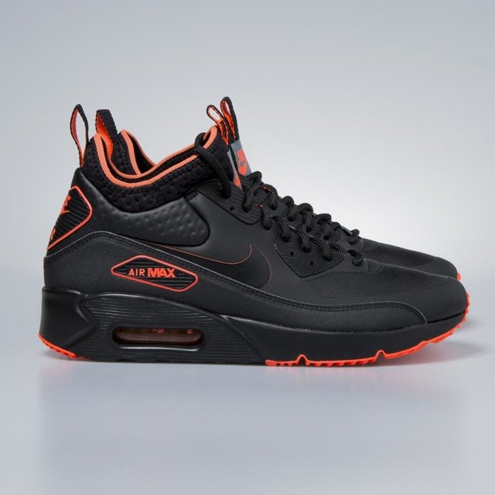 reputable site 1bccc c30c5 nike air max 90 ultra mid winter black total crimson aa4423 001
