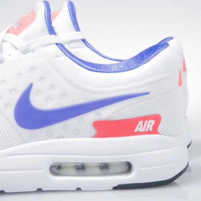 brand new 44082 4a23e ... Nike Air Max Zero Qs white   ultramarine-solar red 789695-105 ...