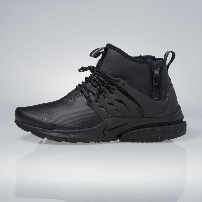 ... Nike Air Presto Mid Utility black / black-volt-dark grey 859524-003 ...
