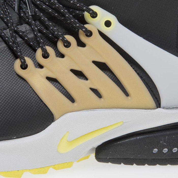 finest selection e9328 9ca63 ... Nike Air Presto Mid Utility black   yellow streak 859524-002 ...