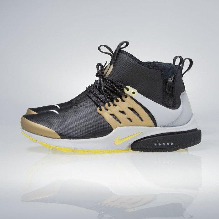 ... Nike Air Presto Mid Utility black yellow streak 859524-002 ...