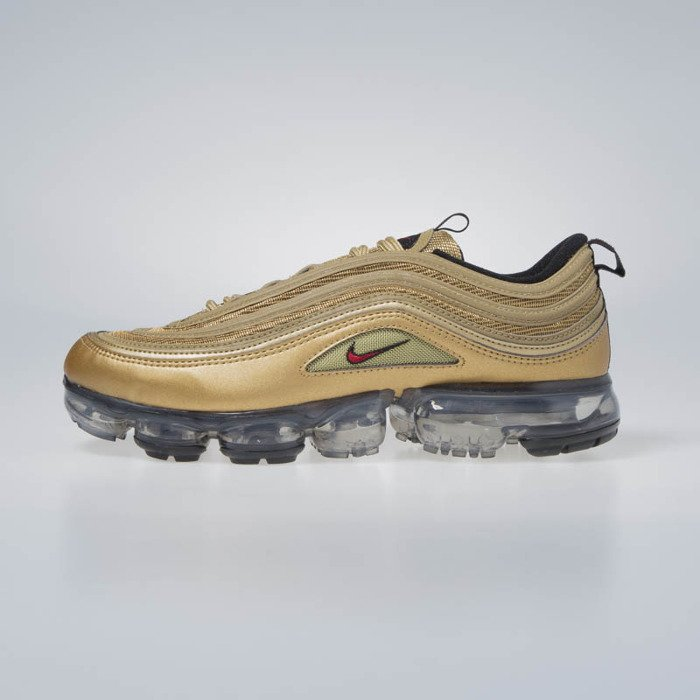 on sale eb3b6 eea59 Nike Air VaporMax 97 metallic gold/varsity red (AJ7291-700)