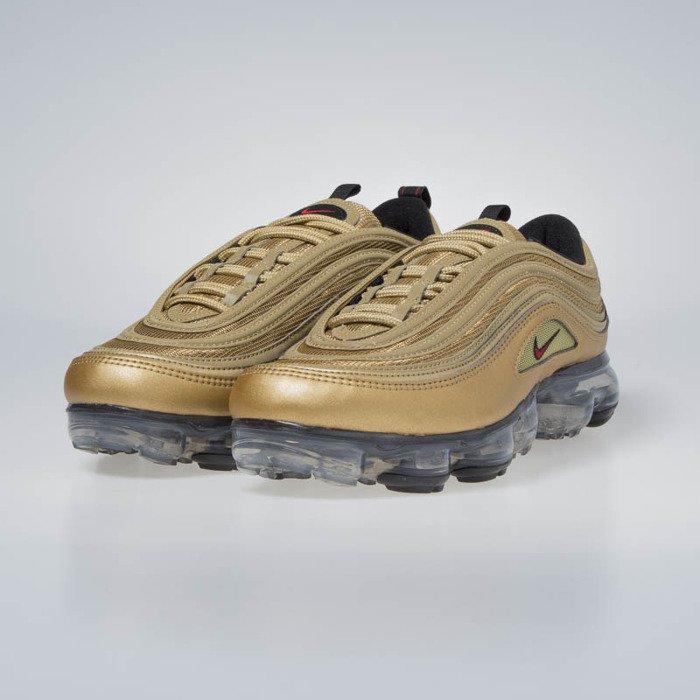 on sale 03c9a d18ce Nike Air VaporMax 97 metallic gold/varsity red (AJ7291-700)