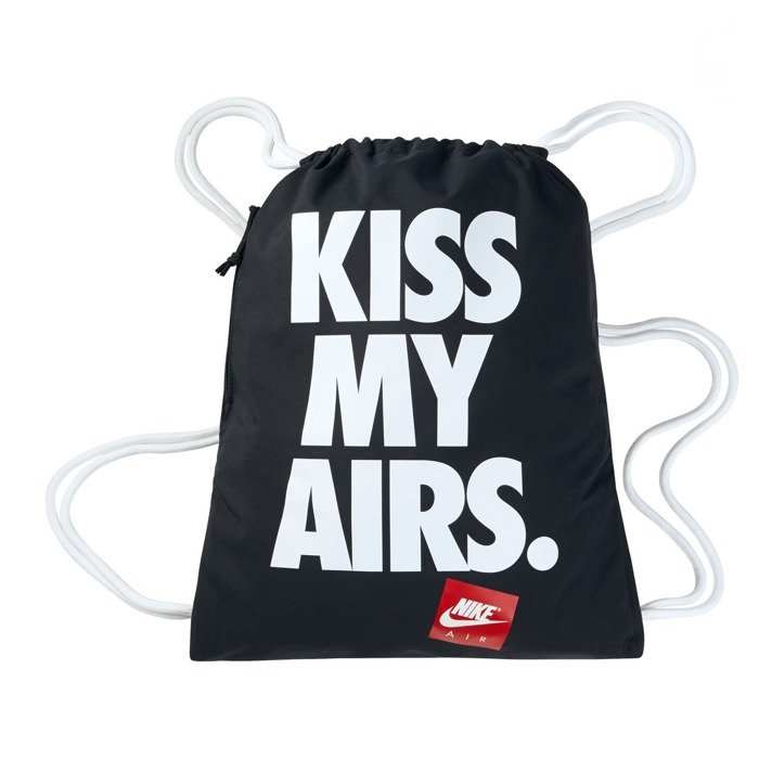 067e382d28260 Nike Kiss My Airs Heritage Graphic Gymsack black (BZ9746-011 ...